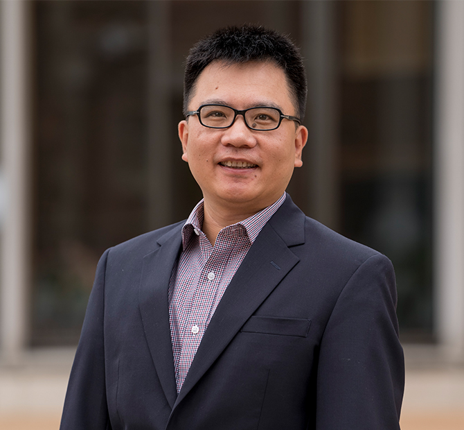 Photo of Research Assistant Professor Jin Huang