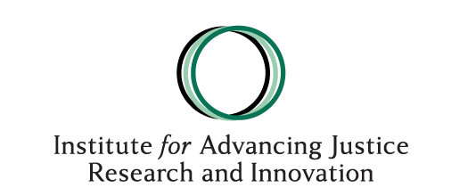 Institute for Advancing Justice Research and Innovation Logo