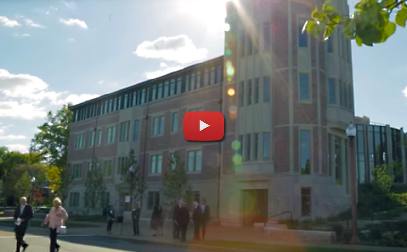 Hillman Hall Dedication