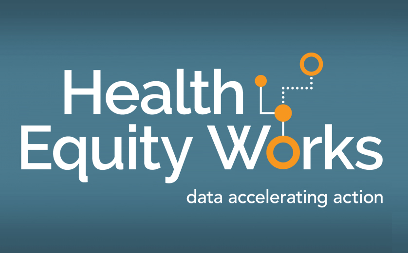 Health Equity Works Logo with Tagline