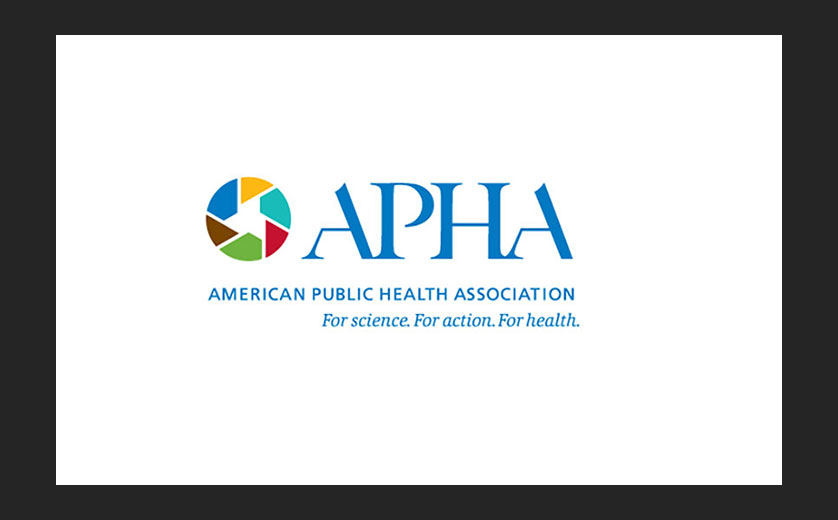 Logo for the APHA 2019 conference.