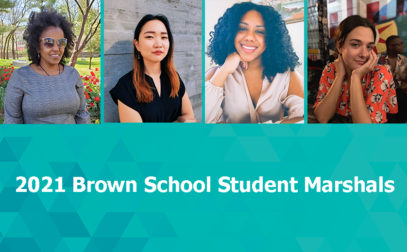 2021 Brown School Student Marshals